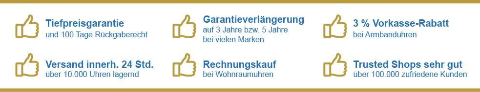 Vorteile bei Uhren4you.de