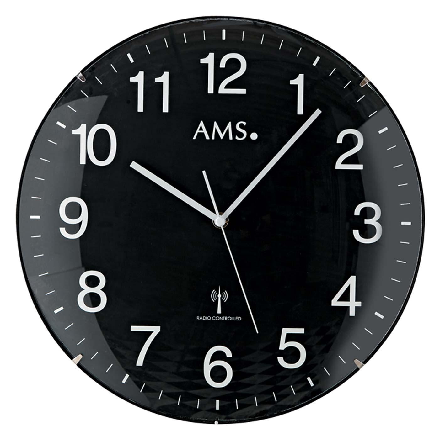 ams 5959 horloge murale horloge de gare horloge de bureau nouveau ebay. Black Bedroom Furniture Sets. Home Design Ideas