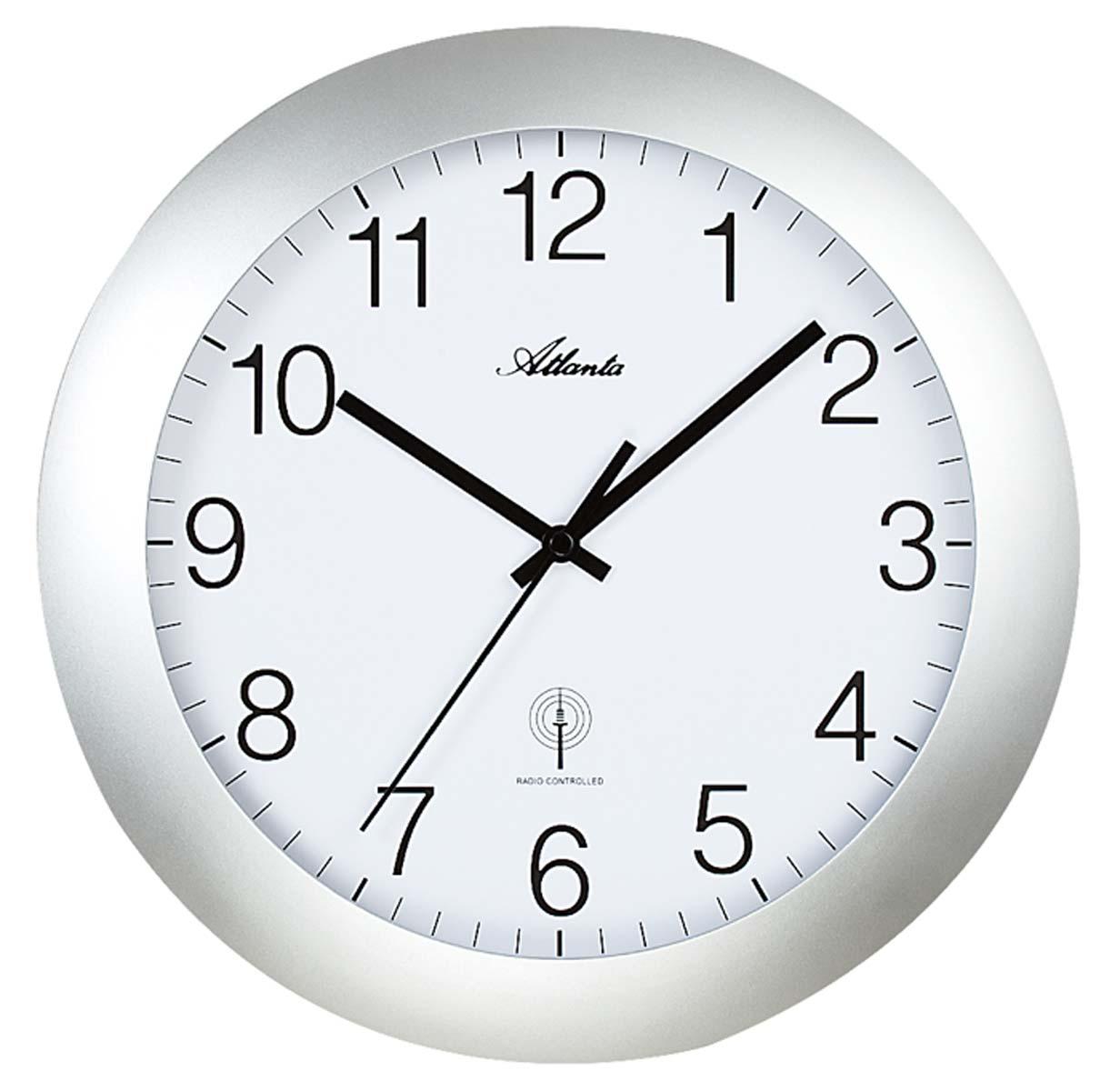 atlanta 4217 19 horloge murale horloge de bureau nouveau ebay. Black Bedroom Furniture Sets. Home Design Ideas