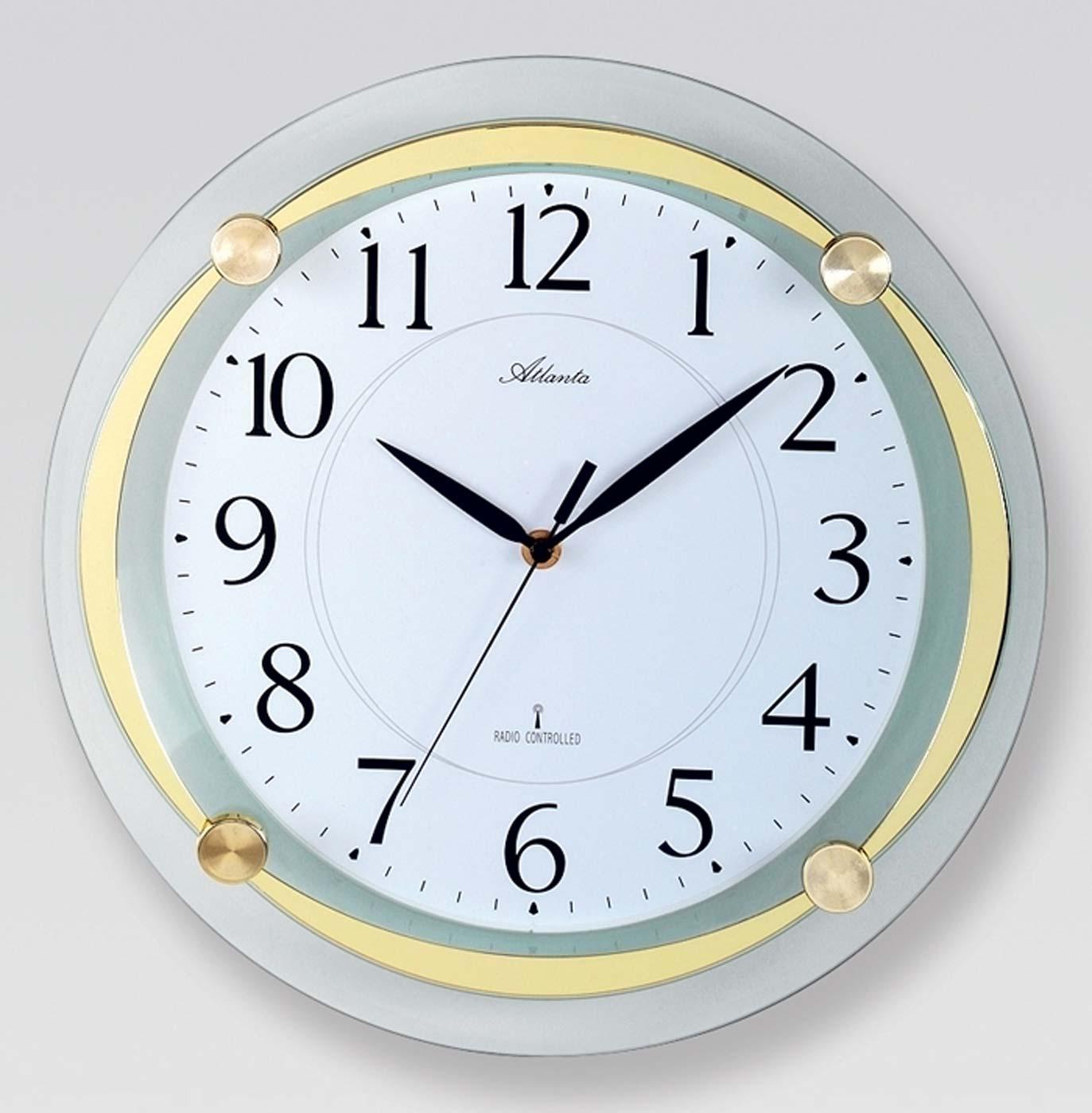 atlanta 4297 9 horloge murale horloge silencieuses