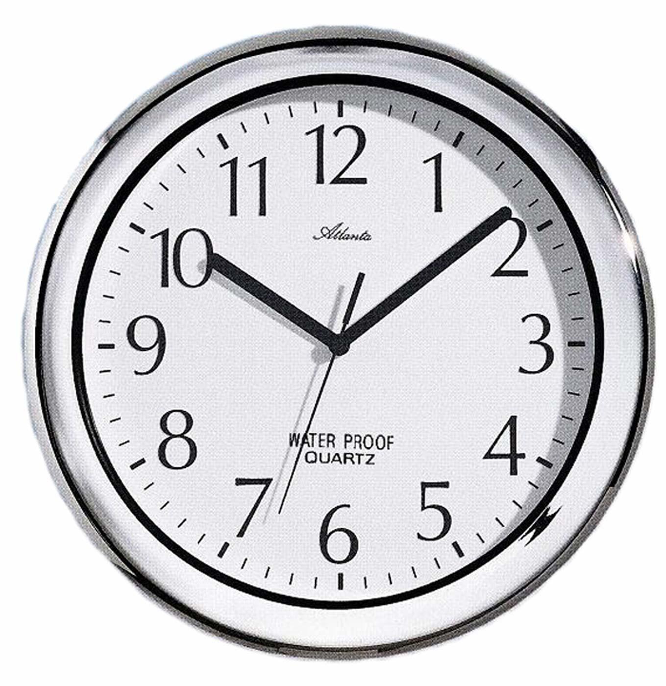 Atlanta 459 19 Wall Clock Bathroom Clock New Ebay
