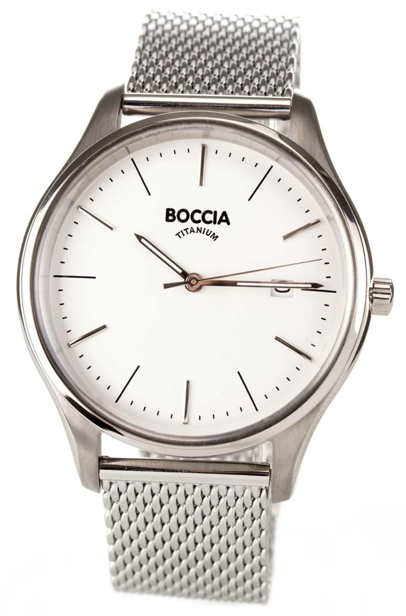 Boccia 3587-03 - Armbanduhr - Herren - Titanium Uhr - Uhren Neu