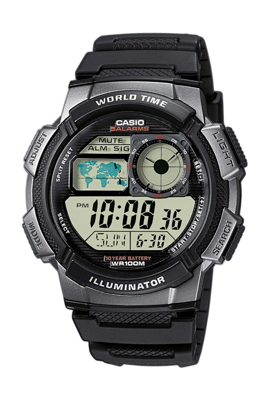 casio ae 1000w 1bvef montre montre homme montre sport nouveau ebay. Black Bedroom Furniture Sets. Home Design Ideas