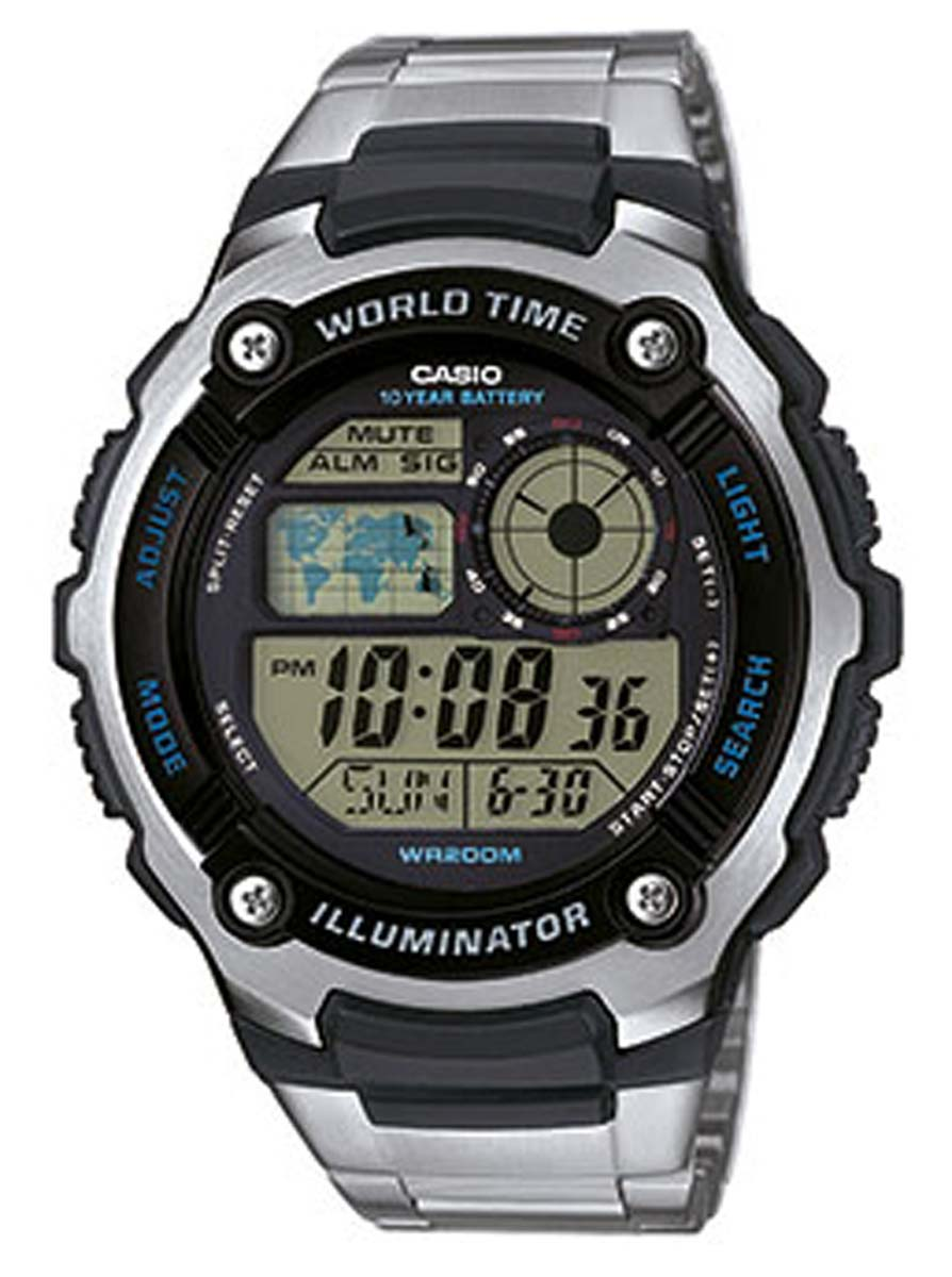 casio ae 2100wd 1avef montre montre homme montre sport nouveau ebay. Black Bedroom Furniture Sets. Home Design Ideas