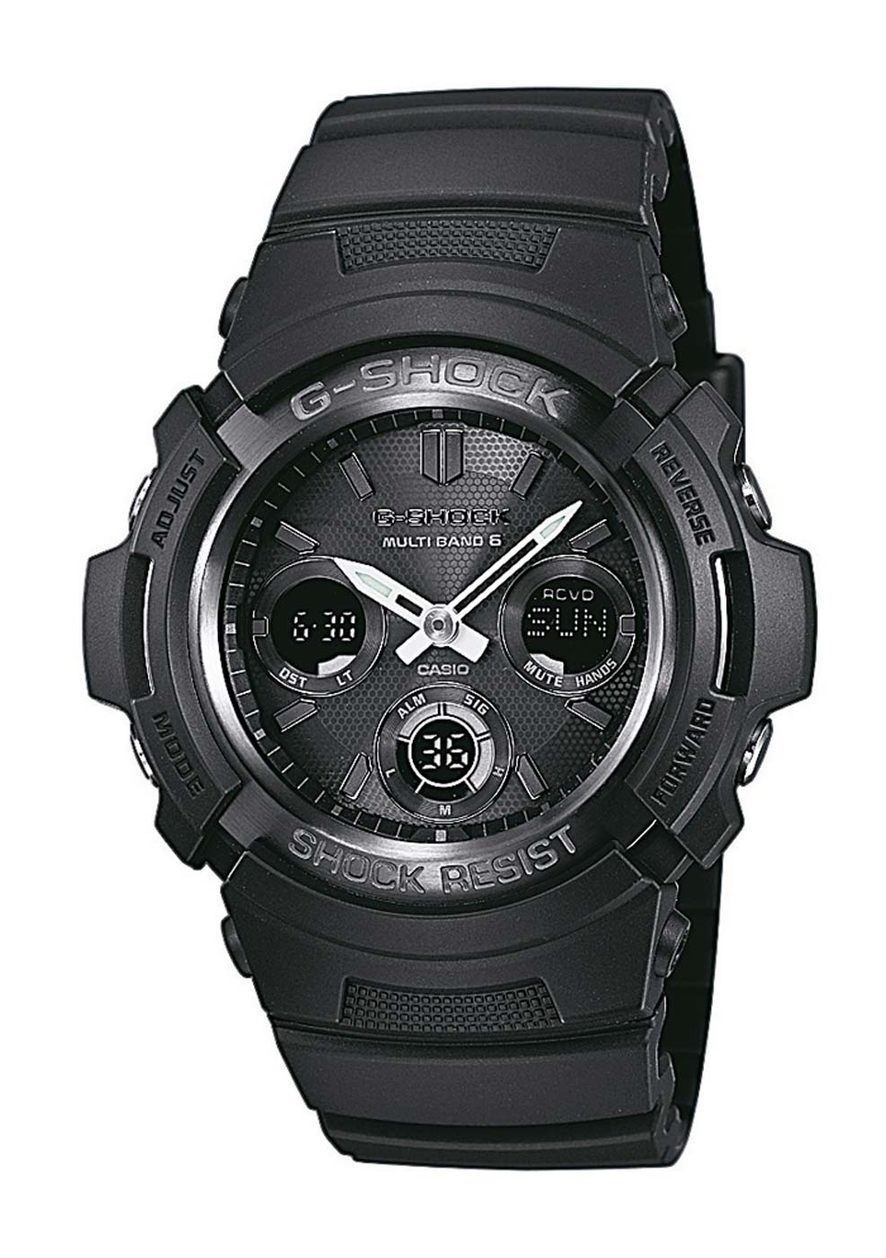 casio awg m100b 1aer montre montre homme chronographes nouveau ebay. Black Bedroom Furniture Sets. Home Design Ideas