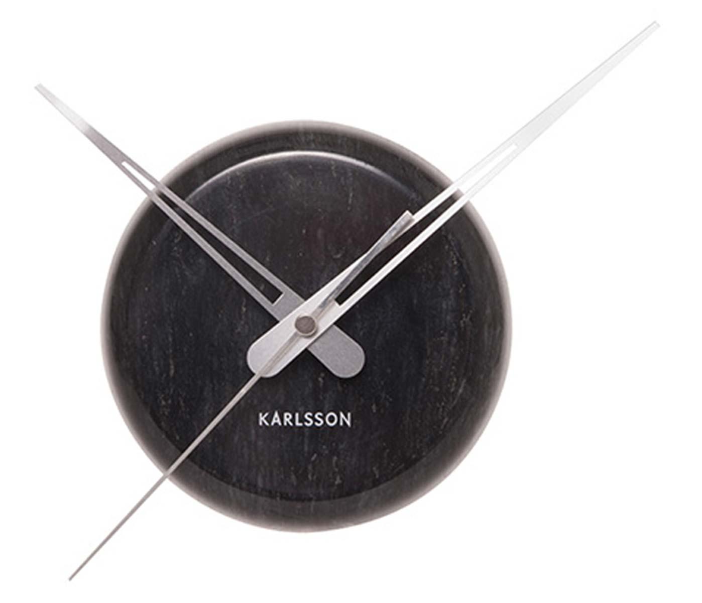 karlsson ka5535bk wanduhr uhren neu ebay. Black Bedroom Furniture Sets. Home Design Ideas