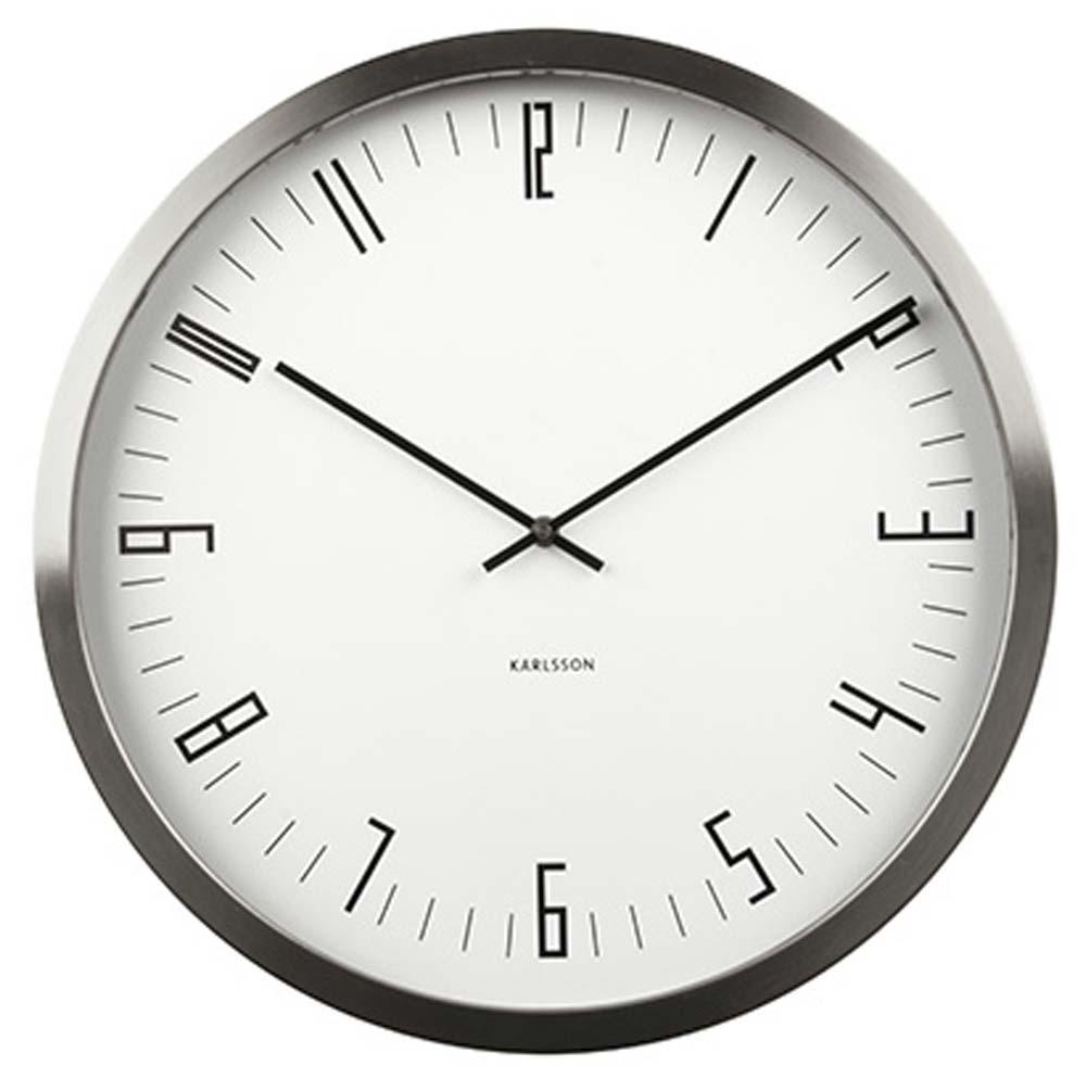 Karlsson ka5612wh horloge murale horloge de gare nouveau ebay - Karlsson horloge murale ...