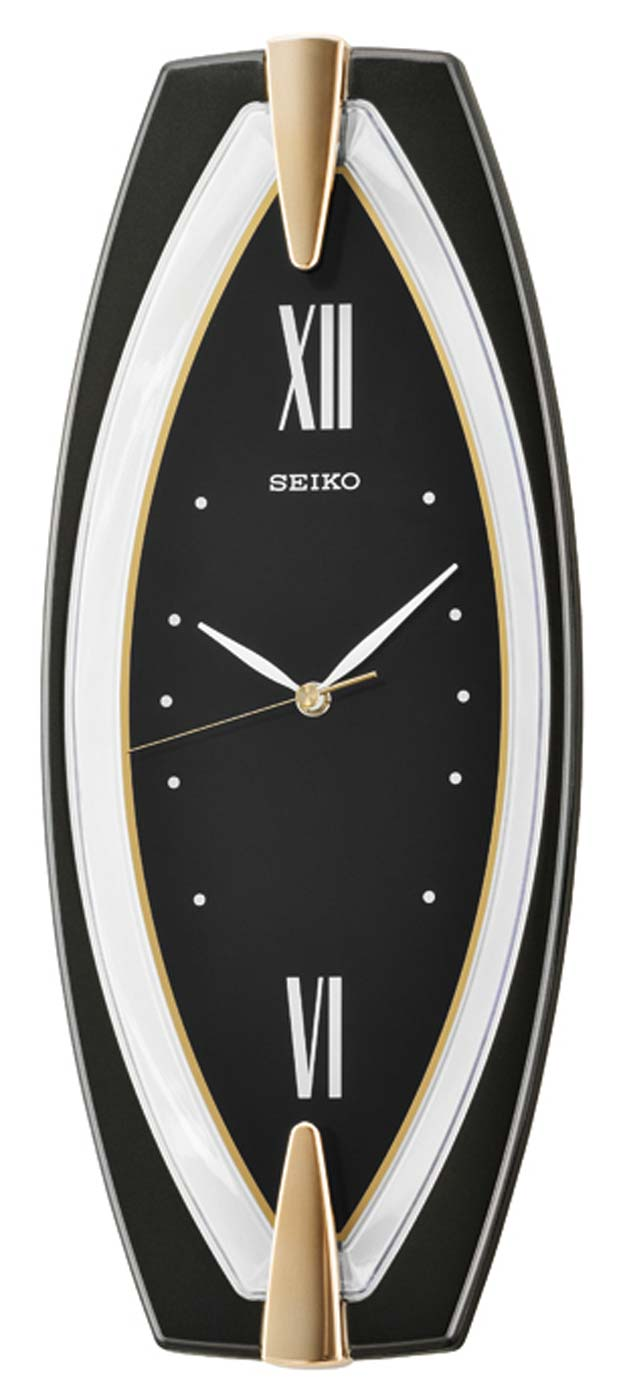 seiko qxa342j wanduhr modern wanduhr wohnraumuhr ebay. Black Bedroom Furniture Sets. Home Design Ideas