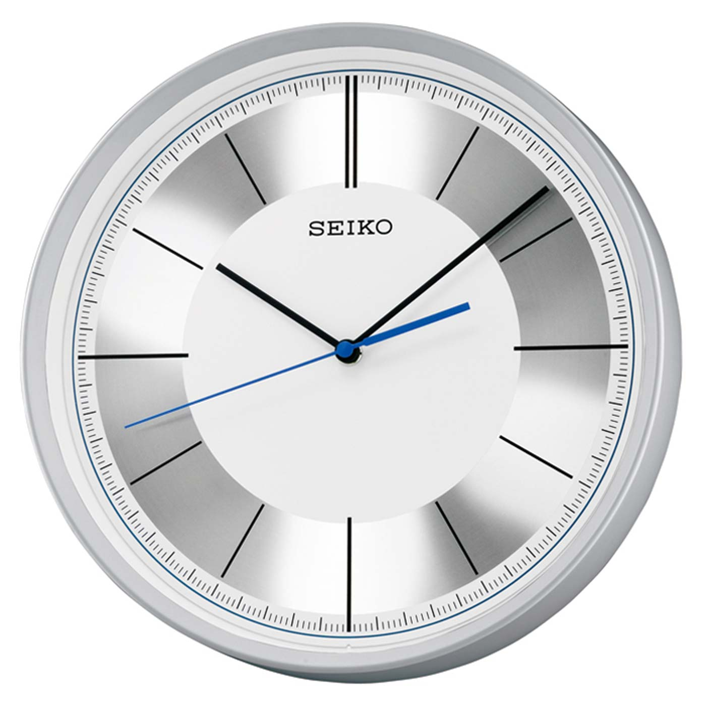 seiko qxa612s wanduhr ger uschlose uhr uhren neu ebay. Black Bedroom Furniture Sets. Home Design Ideas