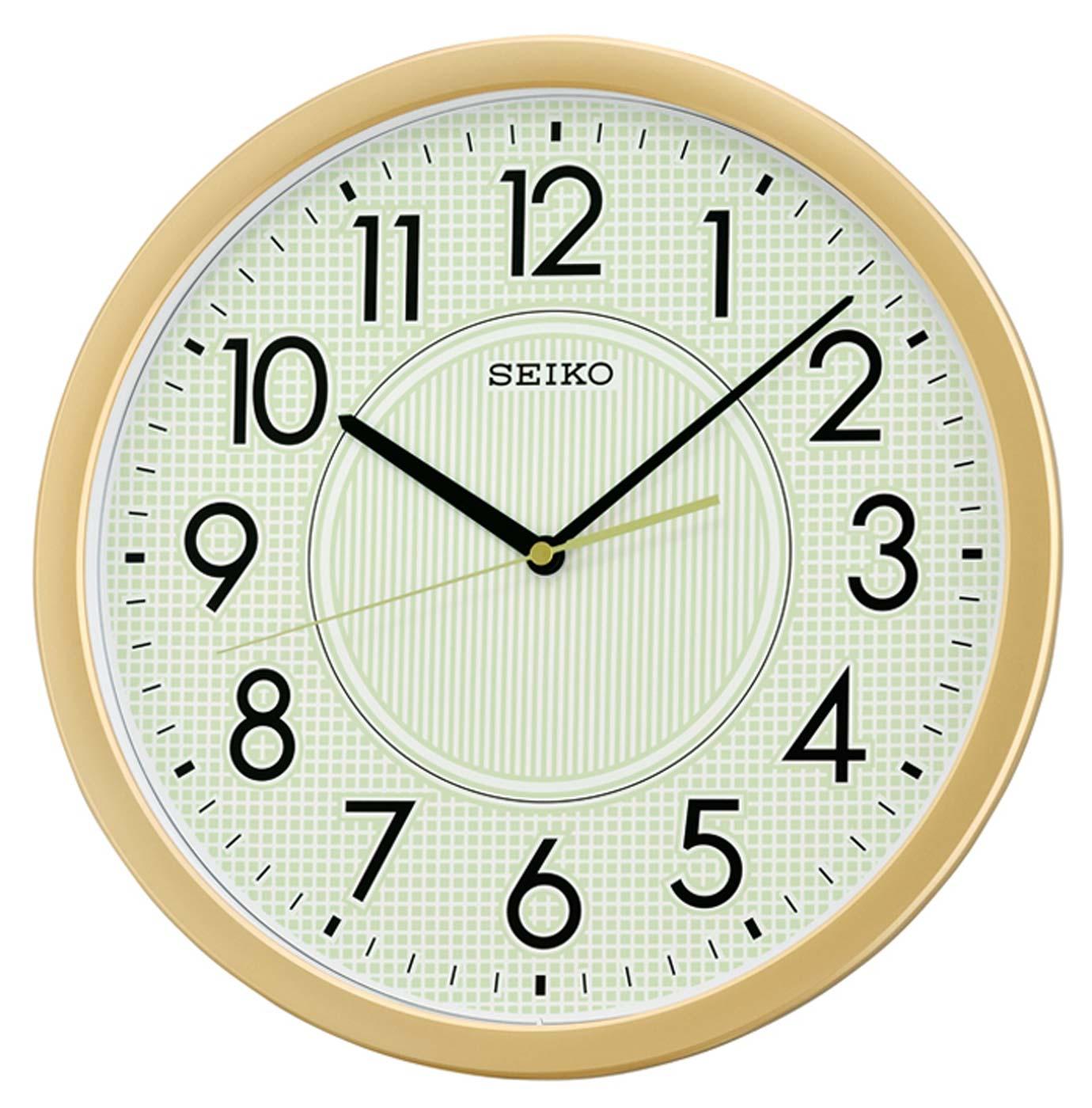Seiko Qxa629g Wall Clock Quiet Clock Office Clock