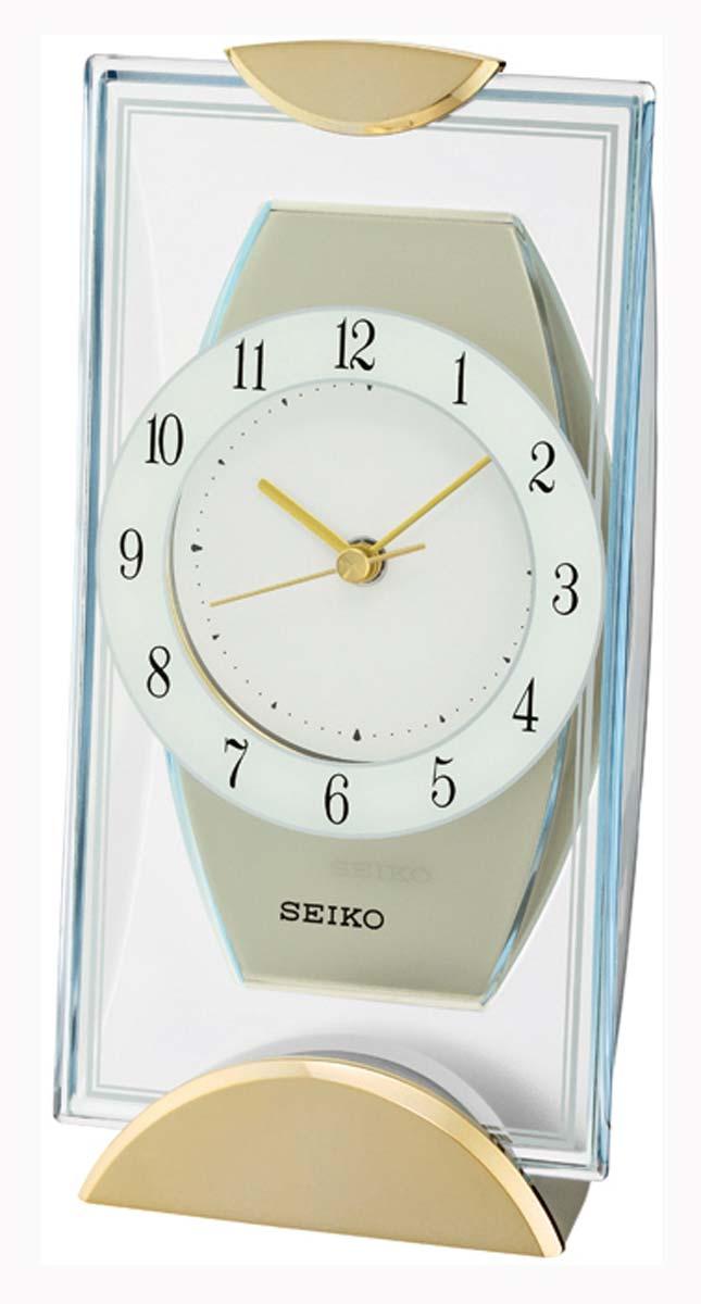 Seiko QXG146G Table Clock   Series: Seiko Table Clocks