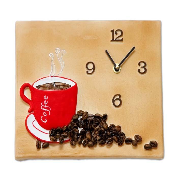 Terrastudio horloge murale horloge de cuisine for Horloge murale de cuisine