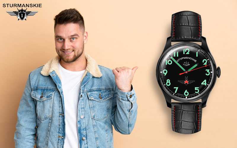 Sturmanskie 2609-3714130 Russische Uhr