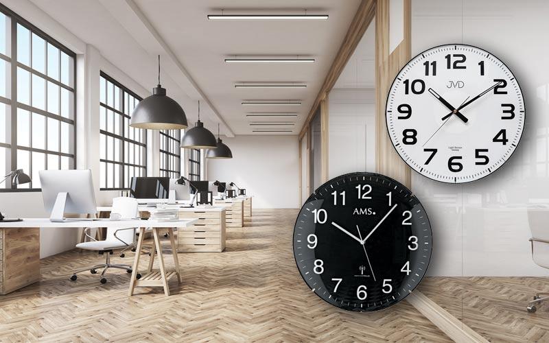 Arbeitszimmer einrichten mit Bürouhren