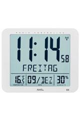 Digitale Funkwanduhr Thermometer Und Hygrometer Garantiezertifikat 5886