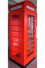 Rote Englische Britische London Telefonzelle