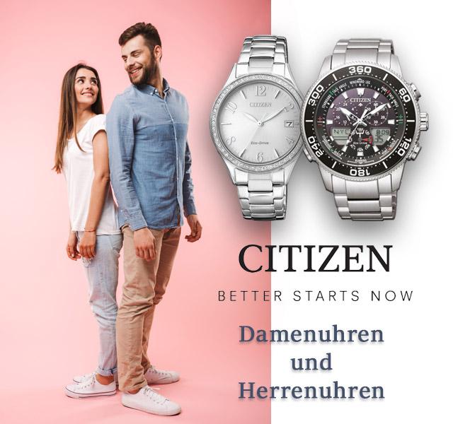 Citizen Damen- und Herrenuhren