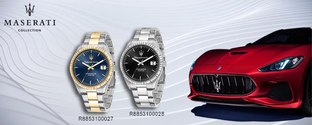 Montres Maserati - Nouveautés Hiver 2021
