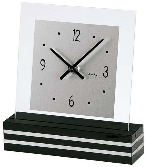 ams 1107 table clock on. Black Bedroom Furniture Sets. Home Design Ideas