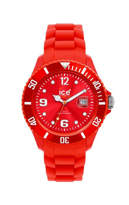 Ice Watch SI.RD.U.S.09 Red - Medium Sili Forever