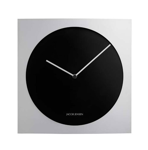 jacob jensen wall clocks 318 wall clock. Black Bedroom Furniture Sets. Home Design Ideas
