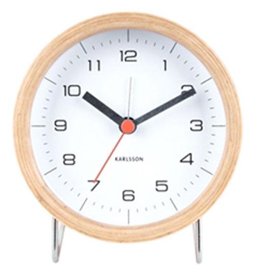 Karlsson Alarm Clocks Ka5669wh Alarm Clocks