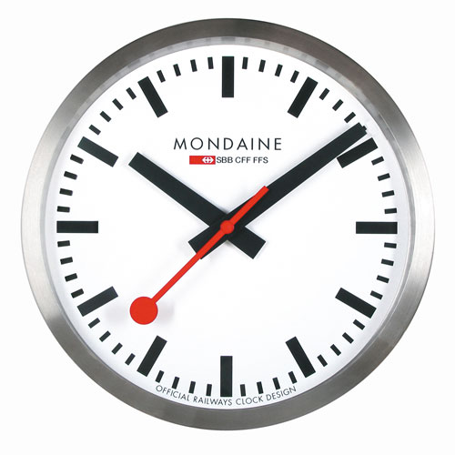 Mondaine Wall Clocks A990 Clock 16sbb Wall Clock