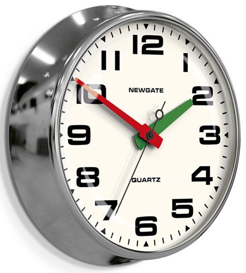 Newgate brix392ch horloge mural sur for Horloges digitales murales