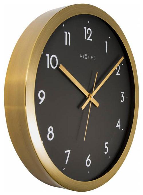 Nextime 2523gb Ger Uschlose Uhr Wanduhr