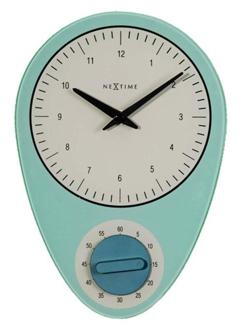 Nextime 3097bl horloge muralsur for Horloges digitales murales