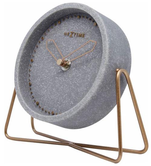 Nextime 5204gs design tischuhr aus stein tischuhr for Design tischuhr