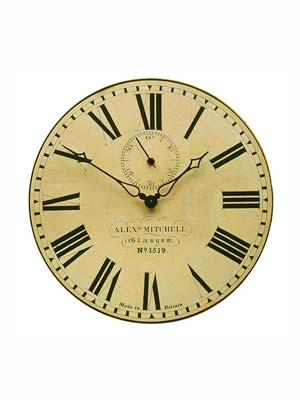 Roger Lascelles PUB GLASGOW Wall Clock Retro Clock